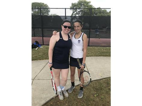 Congrats to Molly Healy '18 and Bridget Boockmeier '19 on their 2nd place finish at the GCAC conference tournament for first-team doubles!