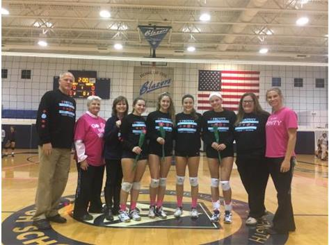 2017 Senior Night for Volleyball