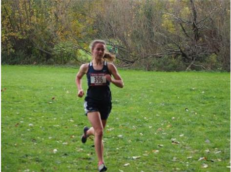 Congrats Emma Creviston '18! All-Sectional Honors for a 2nd place overall finish!!