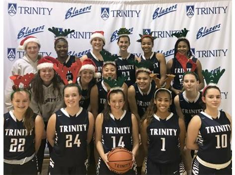 Merry XMAS from Trinity Basketball