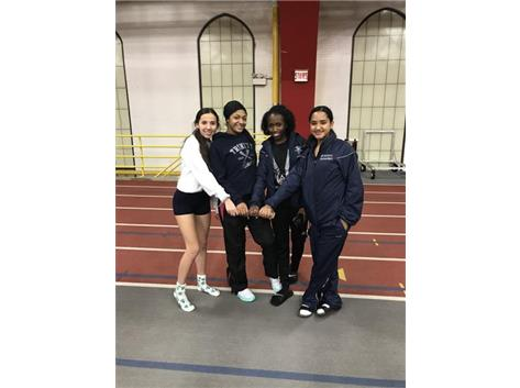Awesome job taking ??at GCAC conference!  IL 2A 4x800 #4!
