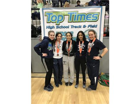 Congrats on capping off a great indoor season!  Bring on the outdoor season.