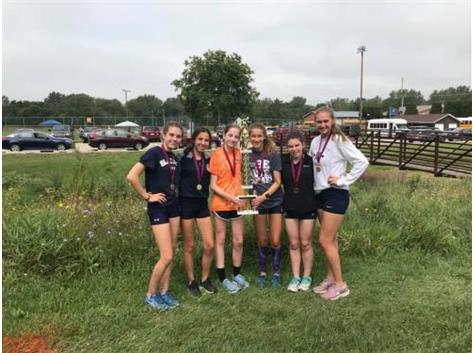 Congrats Blazers on taking 2nd at today's meet.  Lots of improvement from all the girls!   Go Blazers!