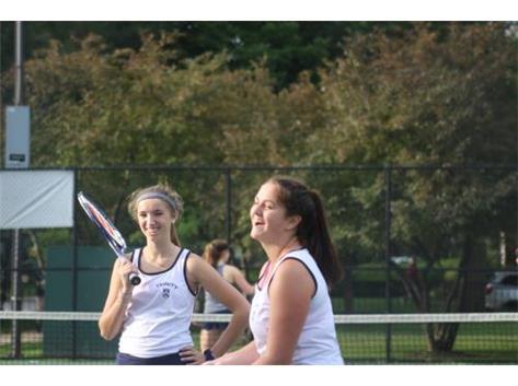 Doubles team - Ellie & Bridget