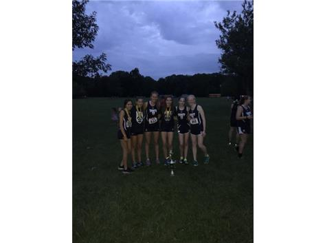 Congrats to Varsity XC for taking first at the St. Pats invite!