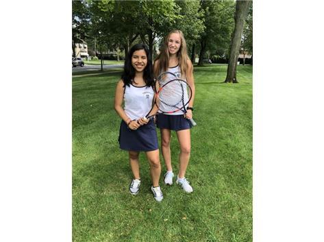 Our 2 Tennis SENIORS!!!