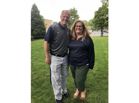 Our 2 favorite! Coach Ken & Coach Molly!