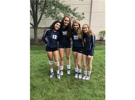 Senior Volleyball 2018