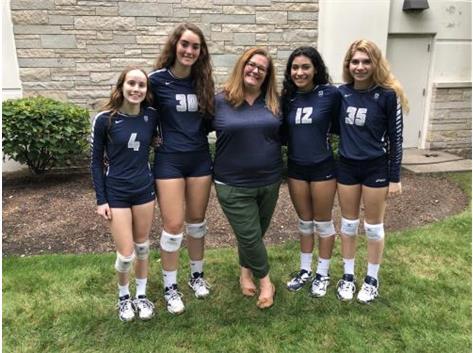 Seniors with Coach Molly