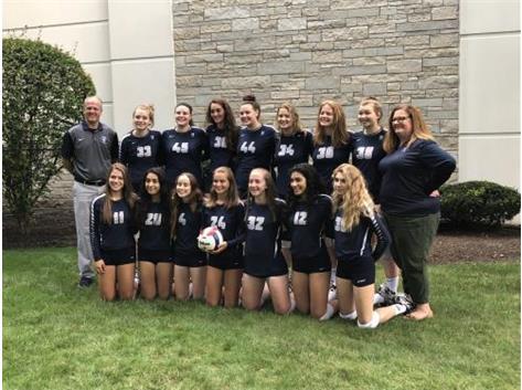 Varsity Volleyball Team 2018