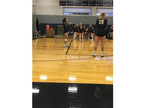 Huge congrats to JV and VARSITY with wins against ICCP! JV took it in two and Varsity battled hard and won it in 3! Way to go Blazers!