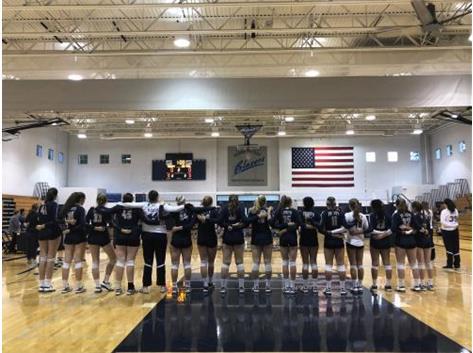 National Anthem - Varsity Volleyball - Sept. 26