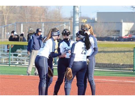 Trinity vs. Maine South - Pitcher - Jess Hoffman