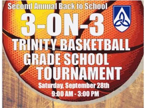 3 on 3 Basketball Tournament! Register now!