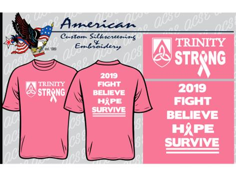 If you order a shirt, you must pay for it and pick it up in the CAF on Monday-Wednesday (Sept 30- Oct 2) during 3a/b. You can wear your Pink Out Shirt to school on Thursday with the rest of your full uniform!   The last day to order a shirt is Monday, September 24 by the end of the school day!""