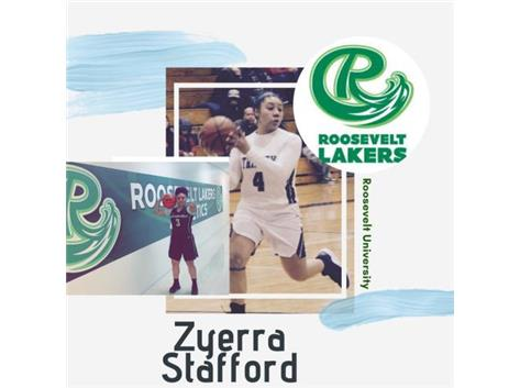 Zyerra Stafford Commits to Play Basketball at the NAIA Level