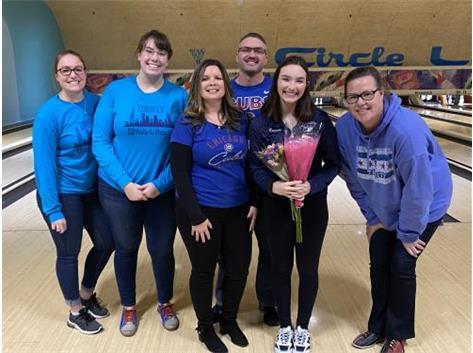 Team Blue!  Alyssa Bennett!