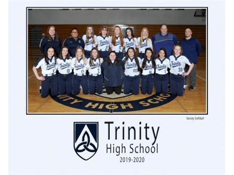 Varsity Softball Team 2020