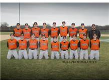 2016 Freshman Baseball Team