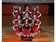 2016-2017 Sophomore Basketball Cheerleaders