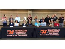 College Signings Hope Greim, Allison Kinsinger, Maddi Campbell, Kassidy Dexheimer