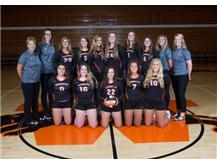 2018 Varsity Volleyball Team  Head Coach: Dawn Davis