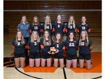 2018 Sophomore Volleyball Team  Coach: Michelle Escue