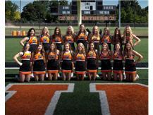 2018 Varsity Football Cheerleaders