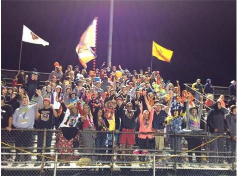 Best Cheer Section EVER!!!