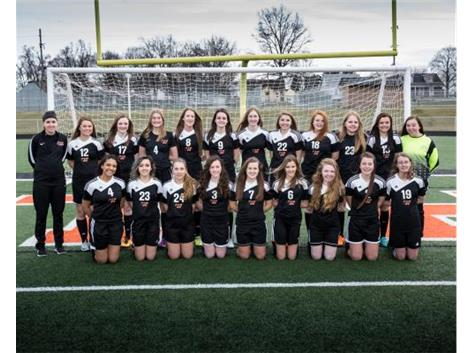 2017 Girls JV Soccer Team Coach Joe Waters