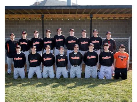 2016-2017 Sophomore Baseball Team Coach: Brett Parrott