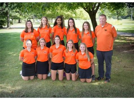 2017 Girls Golf Team Head Coach: Matt Reiser