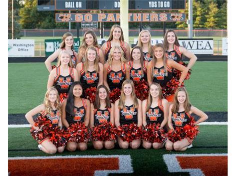 2017 JV Football Cheerleaders
