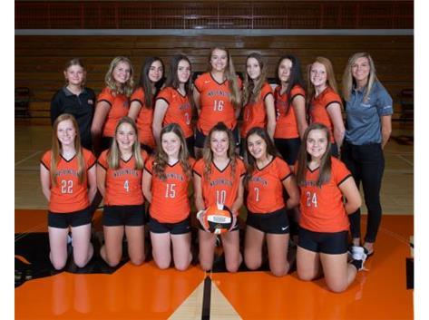 2018 Freshman Volleyball Team  Coach: Hayley Reneau