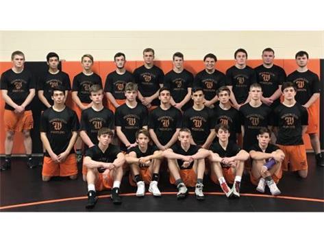 2018 Wrestling Team