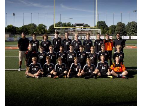 2019 JV Boys Soccer Team