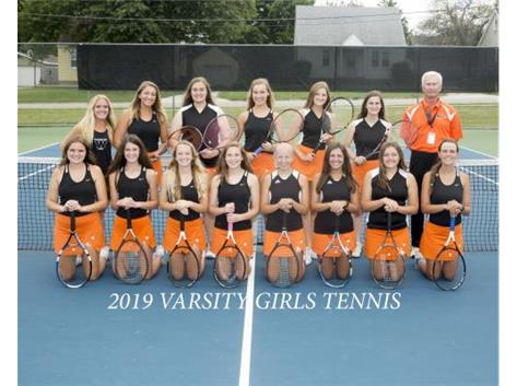 2019 Girls V. Tennis