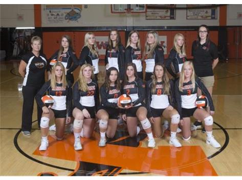 2019 V. Volleyball Team
