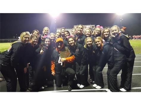 2018-2019 Football Cheerleaders