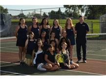 Girls JV Tennis 2019