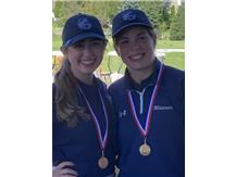 Kendall places 1st with a 71 and Lyndi placed 10th with an 88 at the Ram Invite Sat. Sept 19, 2020