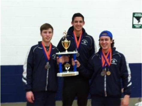 Proud BTRK Captains w/Fenton Trophy