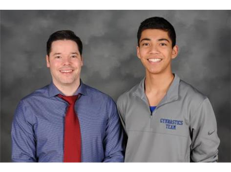 Coach Joe Kermend & Jacob Kurian