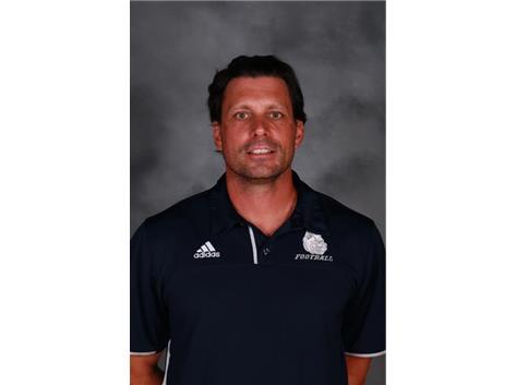 Football Coach Rob Woolwine