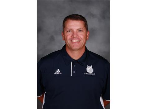 Head Football Coach Ted Monken