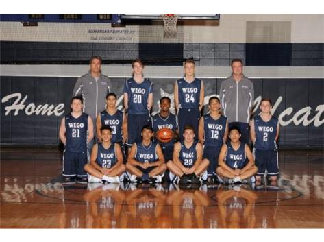 16-17 Varsity Boys Basketball Team
