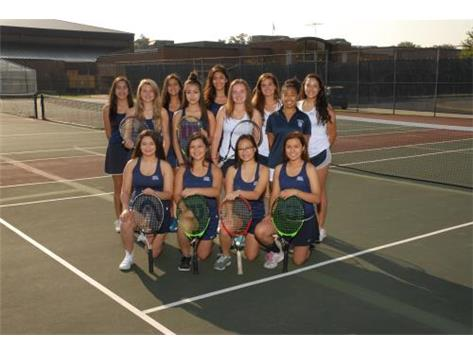 2017 Girls Varsity Tennis