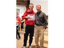 October High School Athlete of the Month, Will Kmieciak
