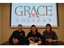 Congratulations to Will Kmieciak who signed a letter of intent to play soccer for Grace College.