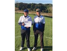 Congratulations to junior Erik Haegeland and sophomore Jackson Hulsey who qualified for the IHSA golf sectional!
